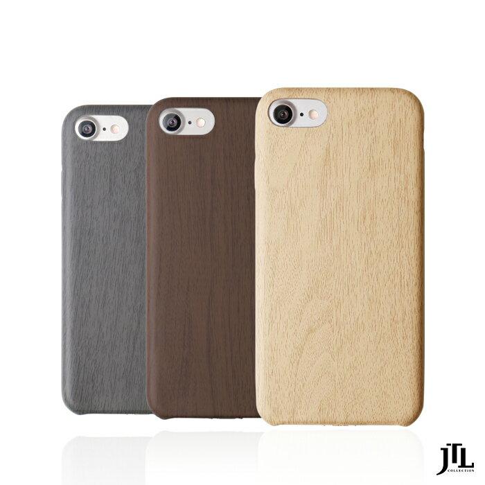 ★原廠公司貨附發票★ JTL iPhone 7 經典木紋保護套