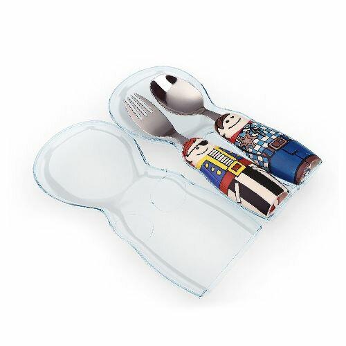 小小家 EAT 4 FUN 餐具外出攜帶盒(商品不含湯匙、叉子)(顏色隨機出貨)★衛立兒生活館★ 0