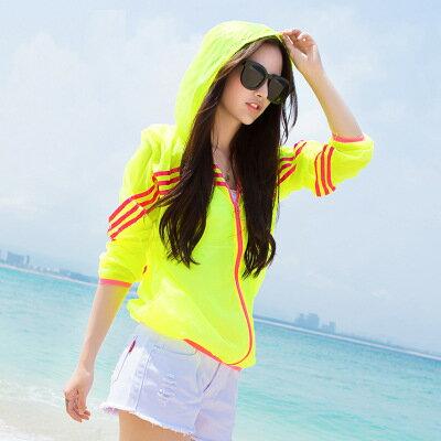 女裝防曬衣長袖戶外薄款外套沙灘防曬衫樂天時尚館。預購