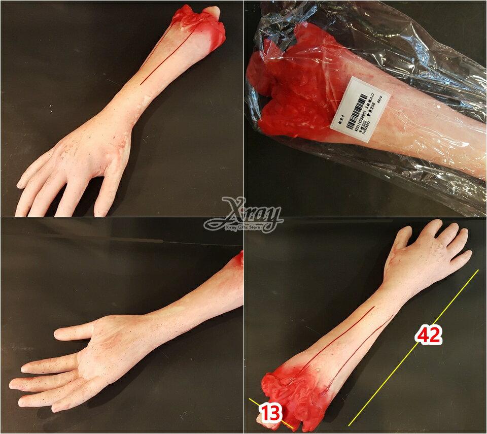 X射線【W228901】萬聖節道具擺飾-假手臂,萬聖節 / 擺飾 / 假器官 / 整人道具 / 造型配件 1