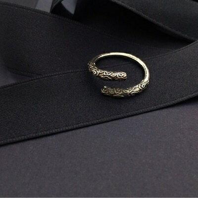 925純銀戒指銀飾~日韓 雅致雲紋生日情人節 女飾品73ic34~ ~~米蘭 ~