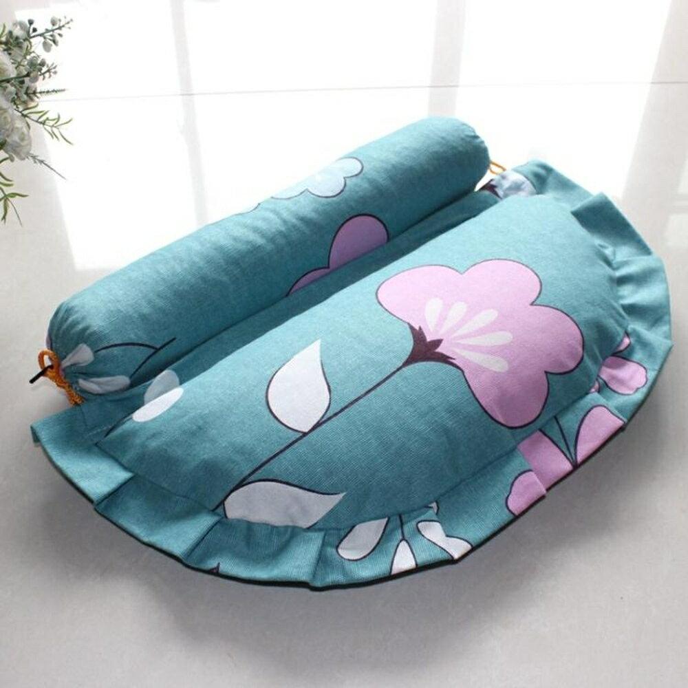 黃豆按摩枕頸椎枕牽引枕 組合枕頭蕎麥殼護頸枕 沸點奇跡