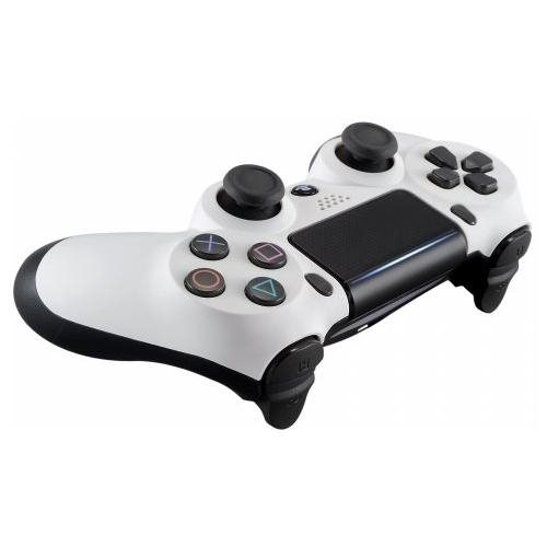 Soft Touch White PS4 PRO Rapid Fire Custom Modded Controller 40 Mod for  COD, Destiny &More CUH-ZCT2U
