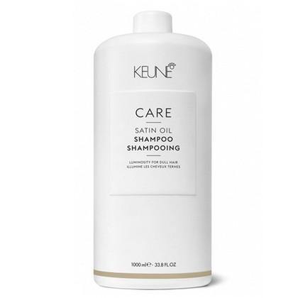 KEUNE C4緞油洗髮精+壓頭 1000ml 乾躁 嚴重受損髮用