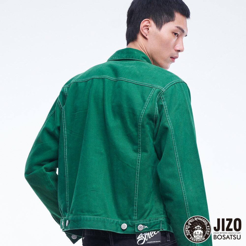 BLUE WAY   地藏小王 高磅數復古燈芯絨襯衫外套(男女款) 3