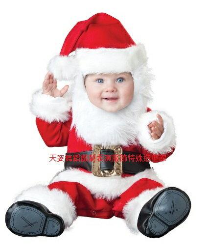 BABY002寶寶聖誕老公公造型服聖誕節外出棉服男女加厚嬰兒連身套裝