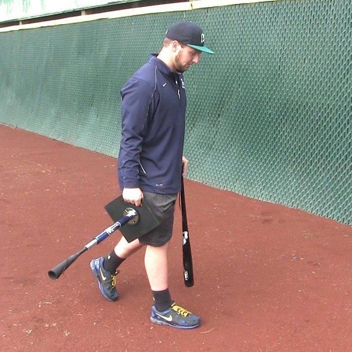 棒球世界 全新JUGS四節式棒壘打擊座 五角形 輕便攜帶式 旋風打擊座 特價
