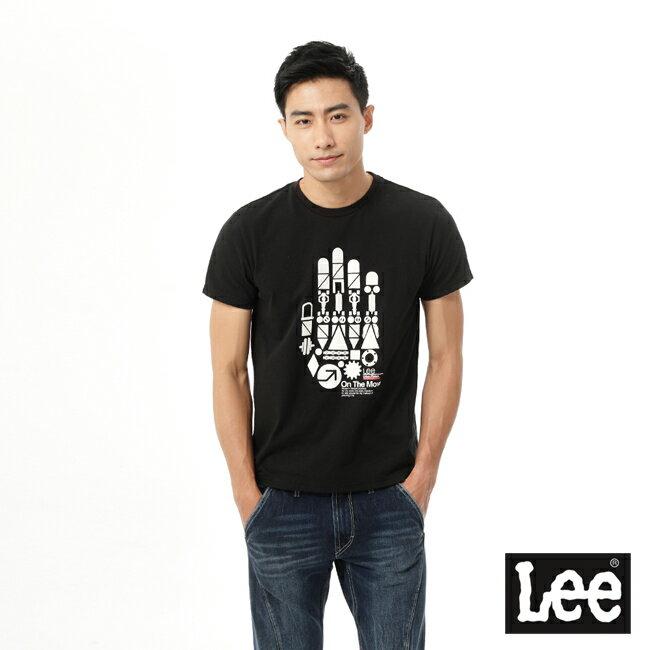 【精選襯衫3.5折】Lee Urban Riders 手掌印花短袖T恤