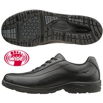 B1GD161809 (黑) WAVE LD40 IV SW第4代日本大人氣4E超寬楦女健走鞋【美津濃MIZUNO】
