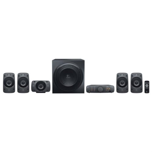 Logitech Z906 3D Surround Sound 5.1 THX Certified, 500W DTS Stereo Speaker System - 980-000467-R 2