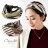 日本CREAM DOT  /  ヘアターバン ヘアバンド レディース 幅広 クロス ツイスト スカーフ マルチ エスニック 大人 ヘアアクセサリー 大人カジュアル 可愛い ブラウン グレー  /  k00315  /  日本必買 日本樂天直送(1490) 0