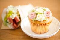 分享幸福的婚禮小物推薦喜糖_餅乾_伴手禮_糕點推薦卅十米手作烘焙坊❤玫瑰朵朵杯子蛋糕❤蛋奶素❤每盒6入❤免運
