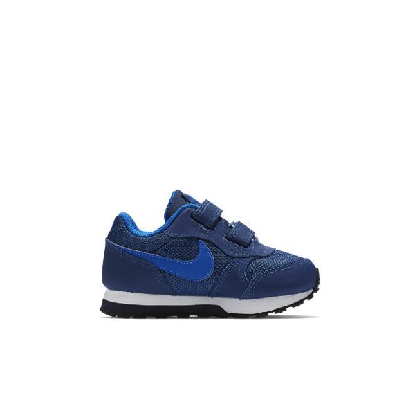 Nike MD RUNNER 2 TDV 童鞋 小童 慢跑鞋 魔鬼氈 復古 藍 【運動世界】 806255-405【樂天會員限定 | 03/01-03/31單筆滿1000元結帳輸入序號『Spring1..