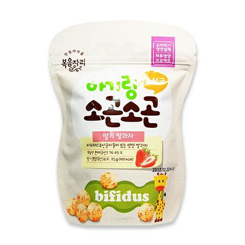 ~衛立兒 館~韓國 BOKUMJARI 福音之樂 草莓益生菌泡芙25g
