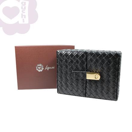 【Aguchi 亞古奇】編織精靈-經典黑 珠寶盒(編織精靈系列) 2