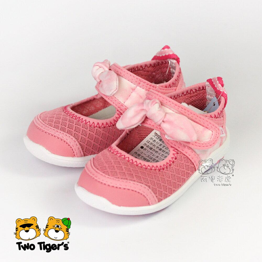 日本 IFME Water Shoes 排水涼鞋 粉紅 蝴蝶結 小童鞋 NO.R3863