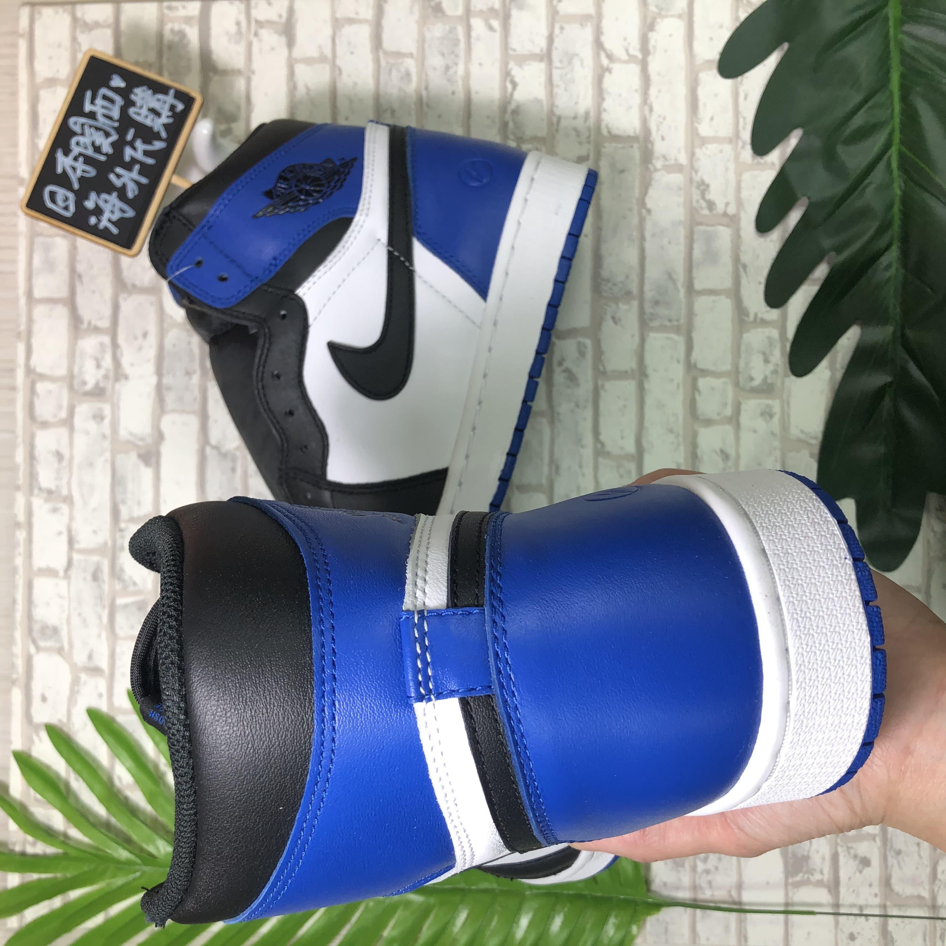 NIKE Air Jordan 1 x Fragment Design 聯名 閃電 藤原浩 白黑 716371-040
