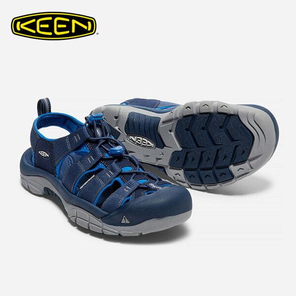 KEEN男款織帶涼鞋NewportH21017342城市綠洲(水陸兩用、輕量、戶外休閒鞋、運動涼鞋)