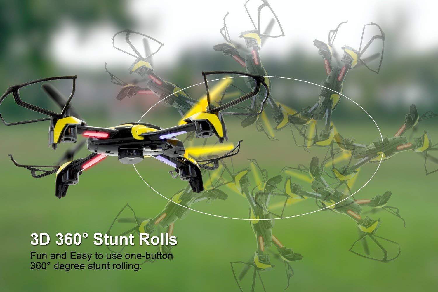 TDR Phoenix Wifi FPV Modular Camera RC Quadcopter with Collision Avoidance  and Live Streaming