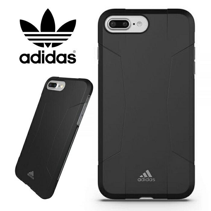 adidas Performance Solo 運動鎧甲 5.5吋 iPhone6/6s/7/8 Plus 黑灰 背蓋/手機套/保護套/手機殼/29585/TIS購物館