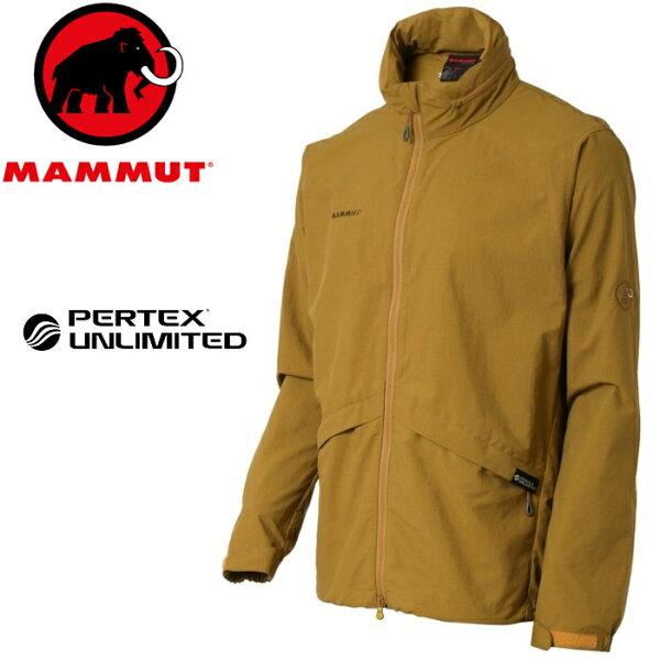 Mammut長毛象登山風衣外套防風防潑水登山健行旅遊MOUNTAINTUFF亞版男款1012-000607047沙褐