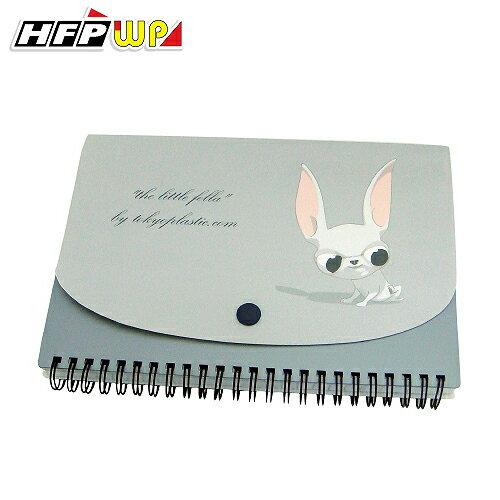HFPWP 手札 (A5) the little fella 名設計師精品100張80磅內頁.附索引尺.限量商品. 台灣製 環保材質TPNA5 / 本