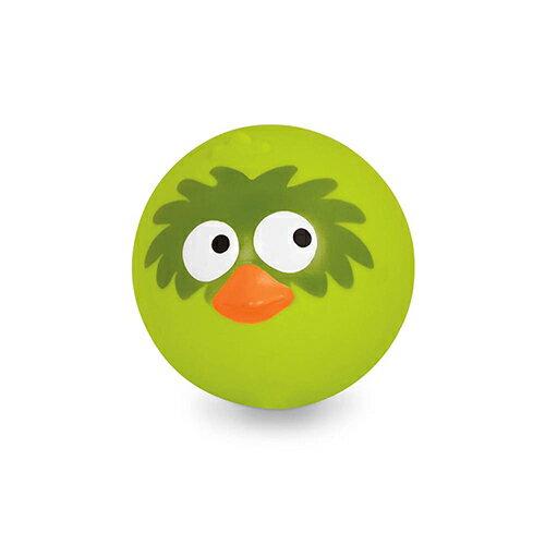 《美國B.toys感統玩具》帕帕鳥皮球(萊姆綠)