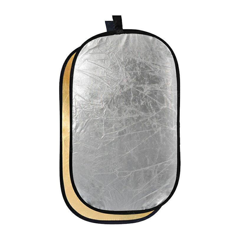 攝影反光板二合一金銀補光板打光板柔光板便攜折疊拍照大反光板 母親節禮物