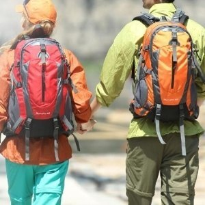 美麗大街【LF0961】戶外登山包雙肩旅行包徒步旅遊背包白溝箱包