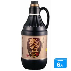 味王麴正宗醬油1600ML*6【愛買】