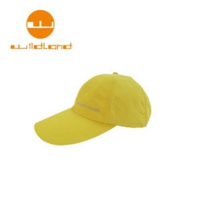 [ WILDLAND 荒野 ] 中性抗UV透氣棒球帽 / 檸檬黃 / W1013-34-F