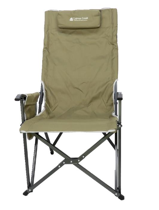 【野道家】賽普勒斯Cypress Creek 高折背大川椅 CC-FC250-棕色