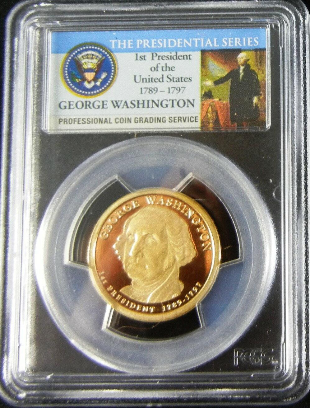 美國首任總統George Washington一元精製硬幣 ~  好康折扣