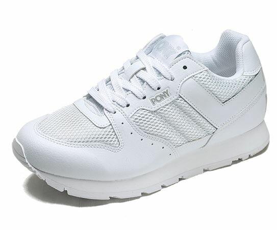 (陽光樂活)-PONY SOLA-V 系列-男復古休閒運動鞋-白 53M1SO63RW