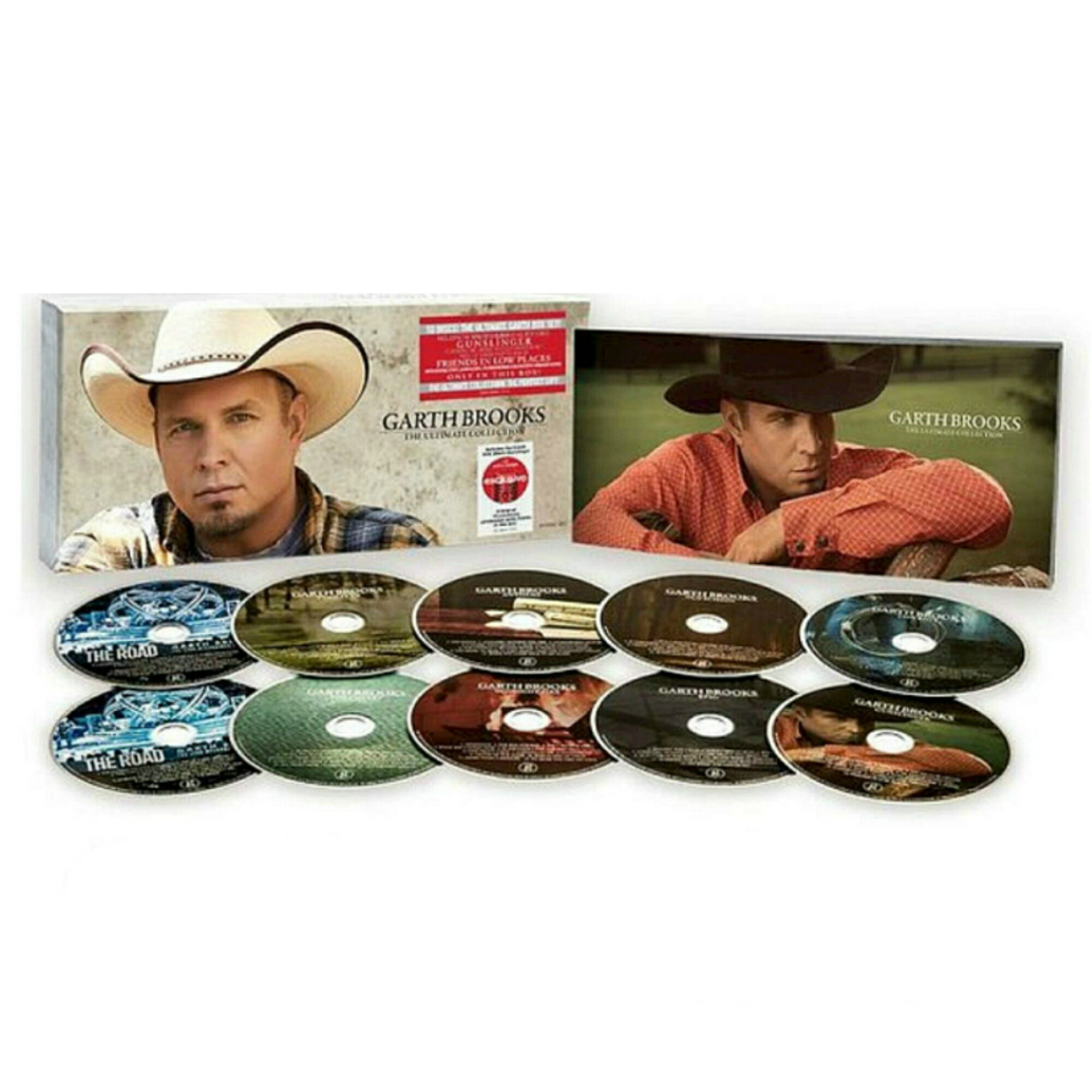 Garth Brooks Ultimate Collection 10 CD Target Exclusive Boxset Gunslinger 0