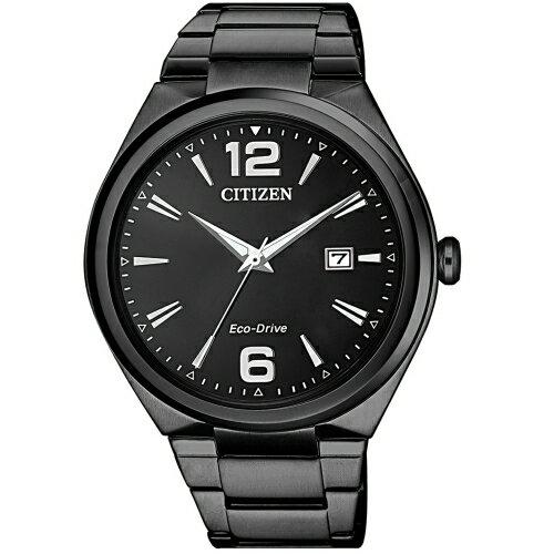方采鐘錶:CITIZEN星辰PAIR簡約光動能腕錶AW1375-58E