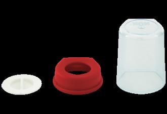 『121婦嬰用品館』NUK 一般口徑奶瓶旋轉蓋組