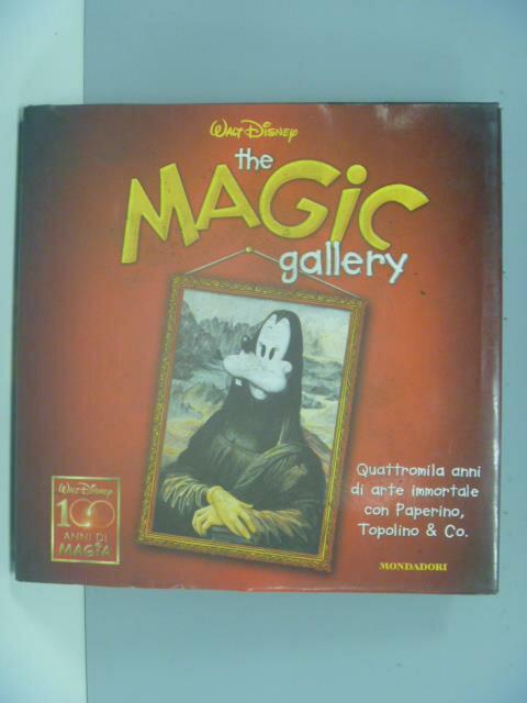 【書寶二手書T1/藝術_GBO】The Magic Gallery_Disney Walt