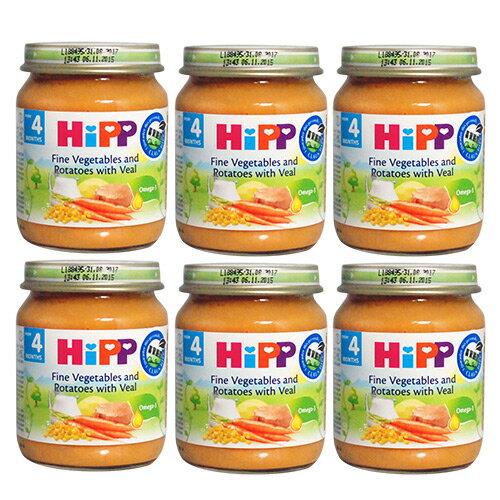 HiPP喜寶天然蔬菜小牛肉全餐(6罐)#2073X6★衛立兒生活館★ - 限時優惠好康折扣