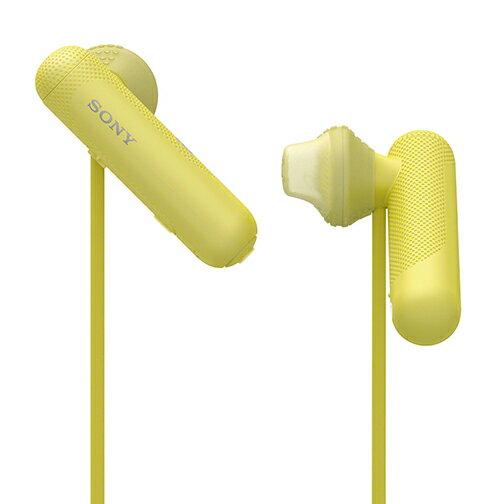 SONYWI-SP500(黃色)無線藍牙運動入耳式耳機公司貨一年保固