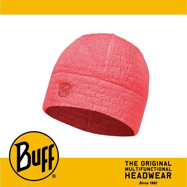 BUFF 西班牙魔術頭巾 Thermal Pro POLARTEC保暖系列 保暖帽 [胭脂紅格絨] BF110955-423-10
