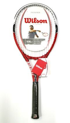 [陽光樂活=] Wilson Federer 106 網球拍 (穿線) - WRT3248002