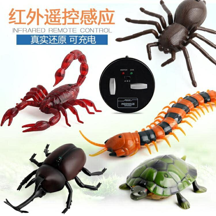 [好物推薦]遙控蛇整蠱玩具 仿真電動蜘蛛惡搞整人神器蟲子蟑螂老鼠蜈蚣抖音