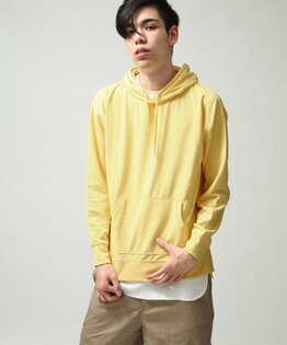 連帽Tee黃色