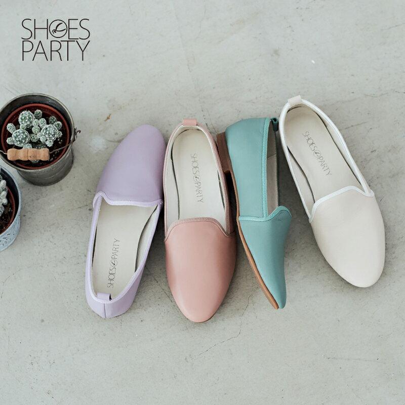 【 C2-17504L 】軟牛皮休閒歐貝拉_Shoes Party 0