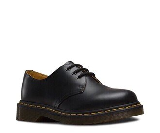 【Dr.Martens】經典1461牛津鞋-女款-黑色