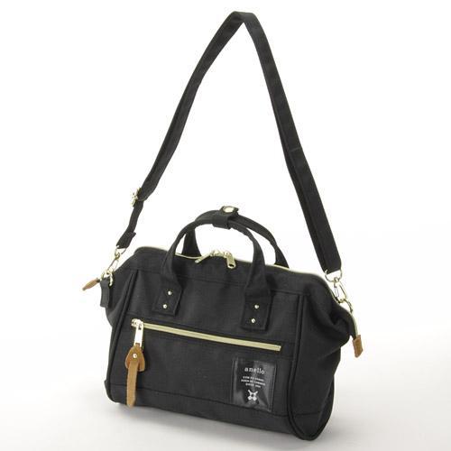 【真愛日本】16061500012   anello潮流兩用手提側背包M-黑   ANELLO  側背 手提  包包 正版