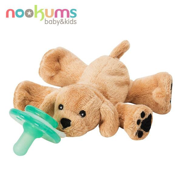 【只有3天降$540】美國【NookUms】安撫奶嘴玩偶娃娃-黃金小犬