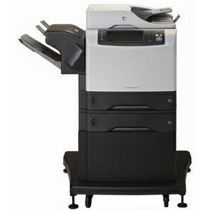 HP LaserJet M4345XS Laser Multifunction Printer - Monochrome - Plain Paper Print - Floor Standing - Copier/Fax/Printer/Scanner - 45 ppm Mono Print - 1200 x 1200 dpi Print - Automatic Duplex Print - 45 cpm Mono Copy - 2 x Input Tray 500 Sheet, 1 x Automati 1