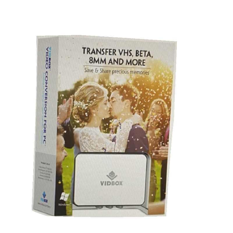 [9美國直購] VHS 轉 CD or DVD 燒錄  VIDBOX Video Conversion for PC (2020)